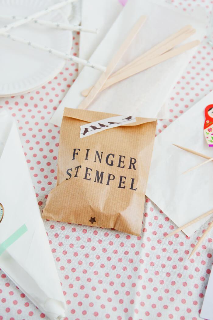 Fingerstempel