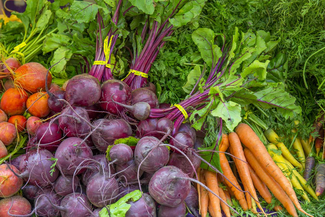 Beets on the market