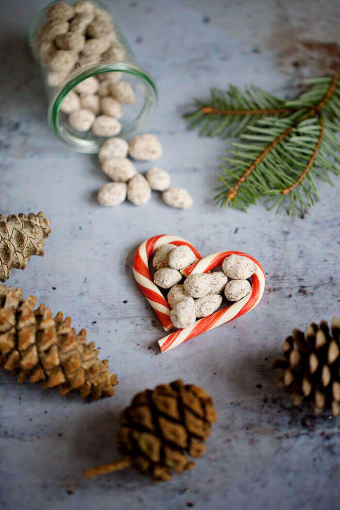 Schokomandel -Geschenke aus der Küche