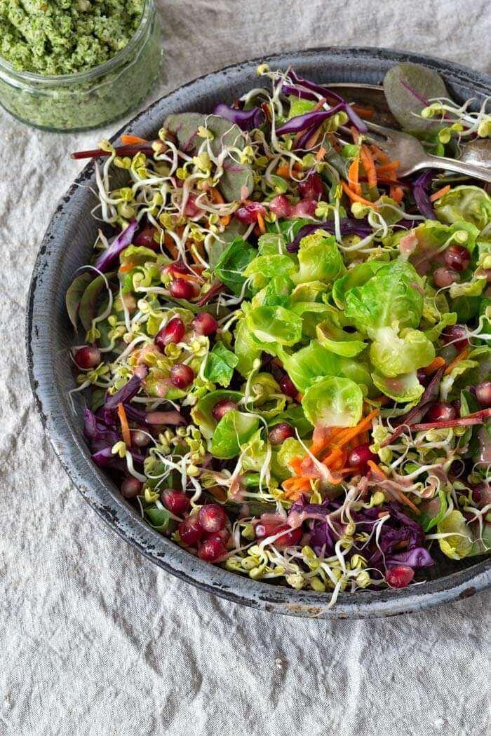 Winter-Salat