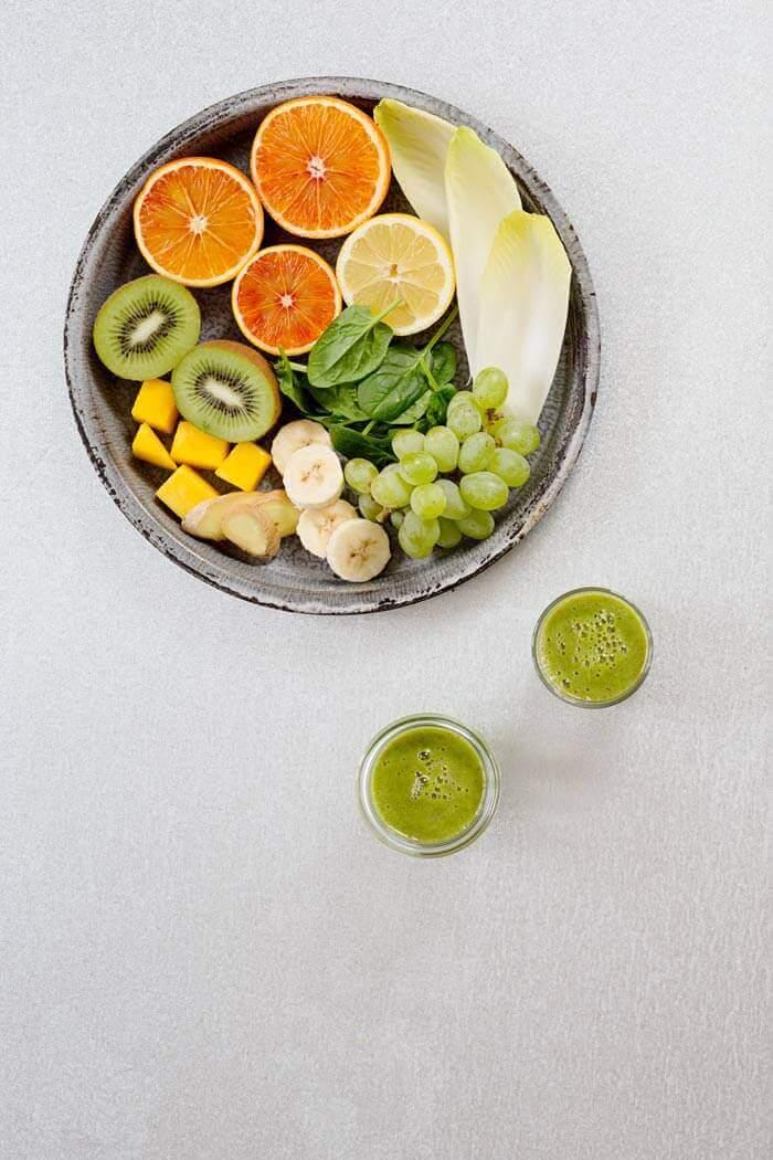 Grüner Vitaminbomben Smoothie