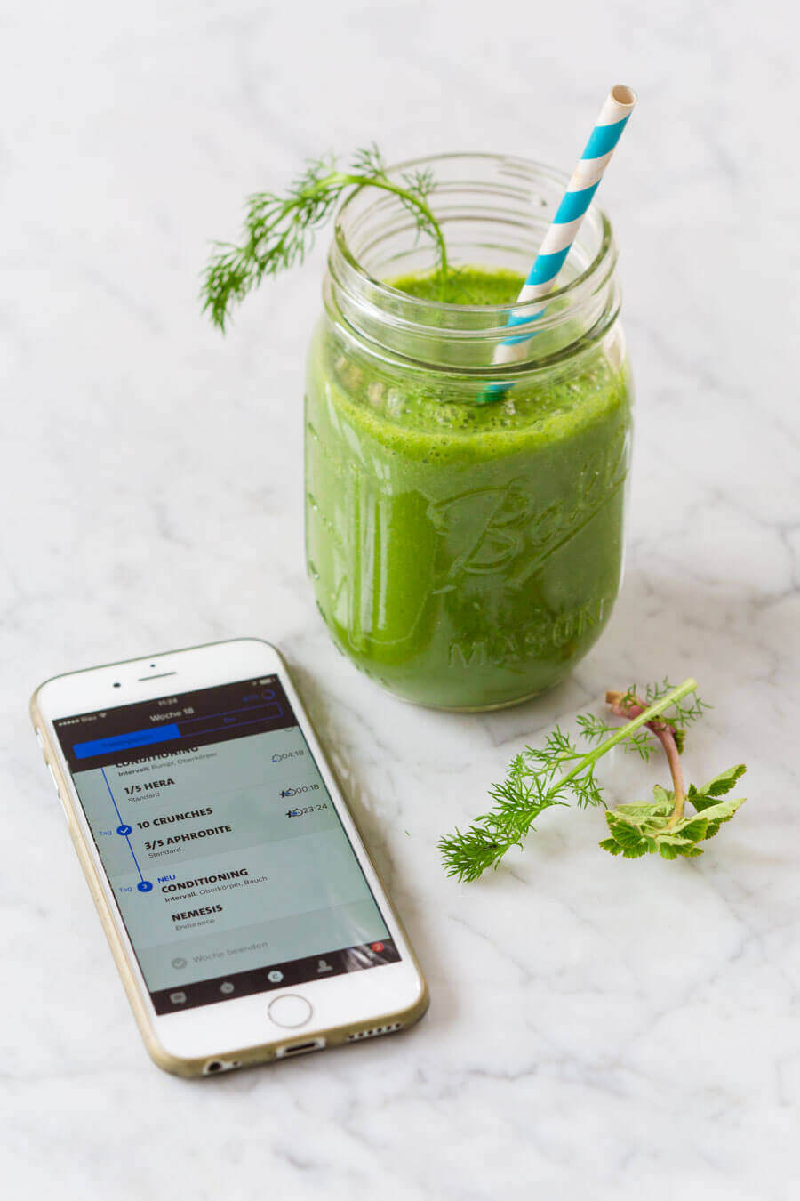 Green Workout-Smoothie