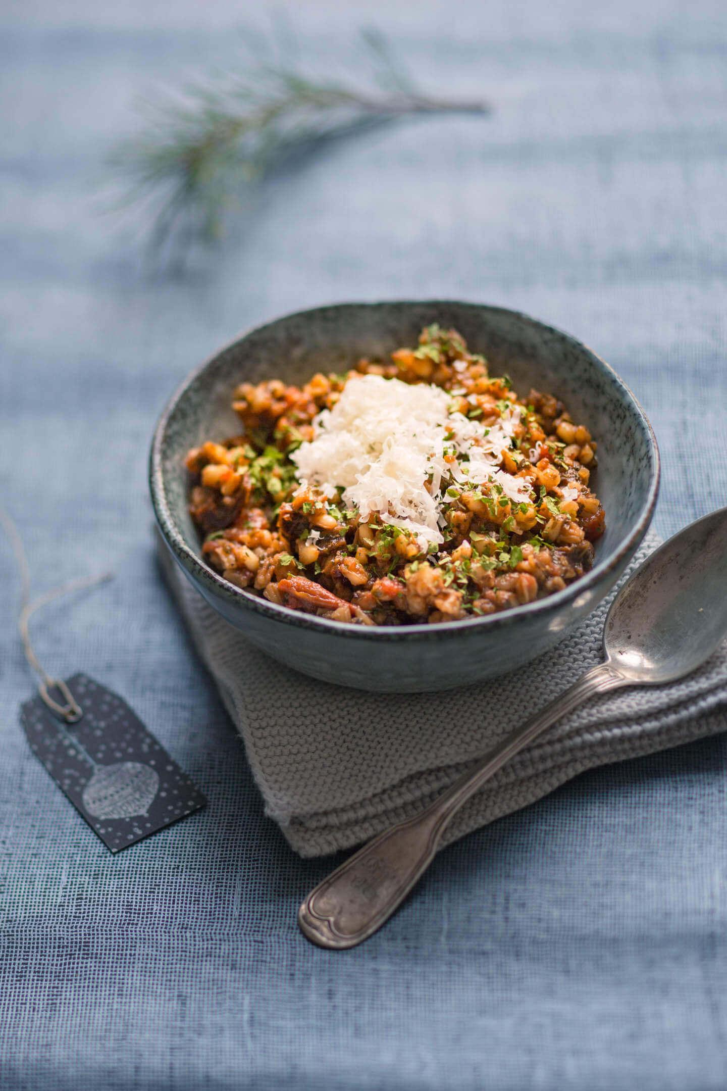 Italienischer Graupeneintopf: Geschenke aus der Küche!