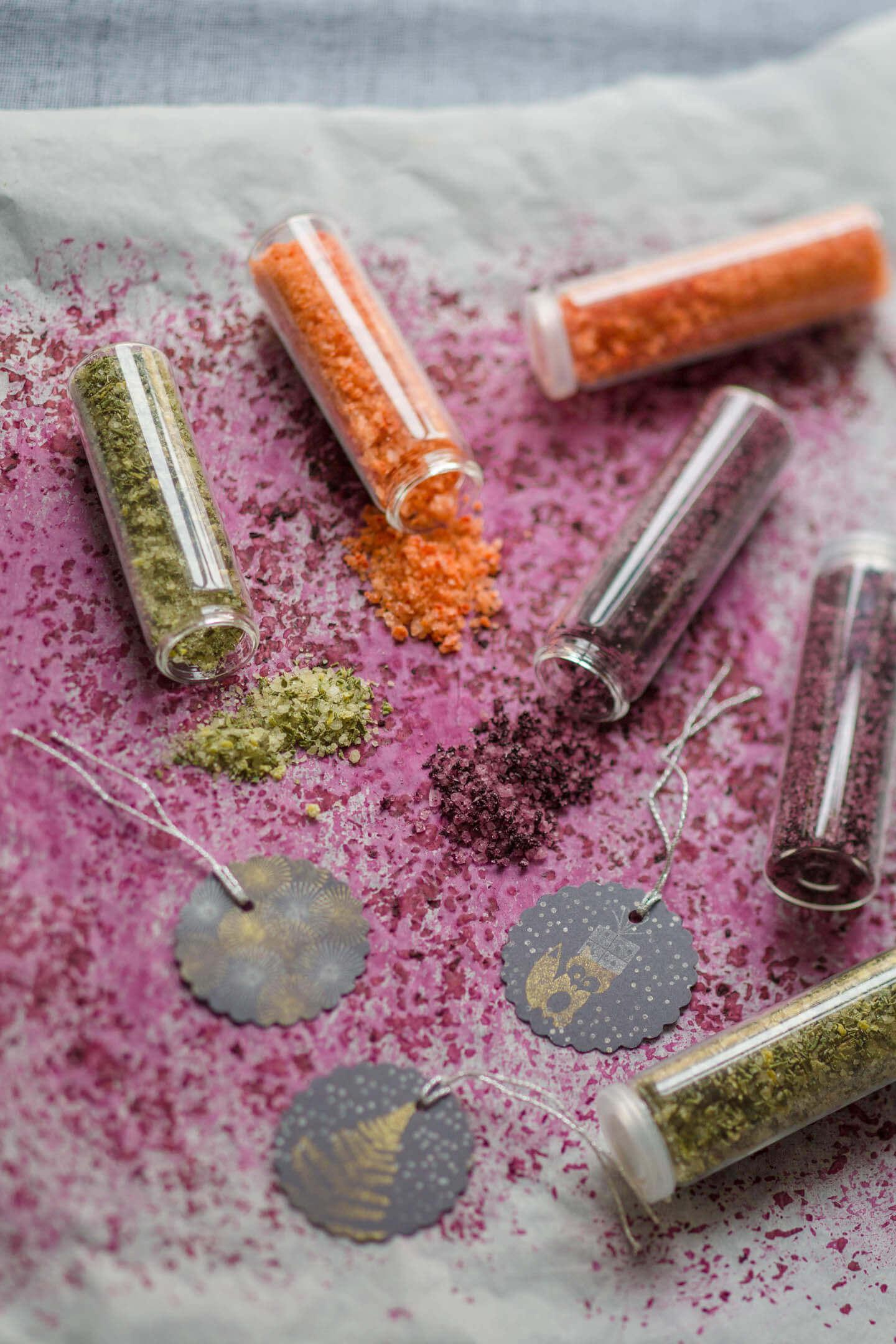 3 verschieden Salze : Geschenke aus der Küche