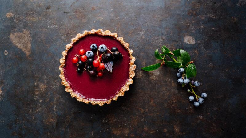 Beeren-Tarte mit Beeren